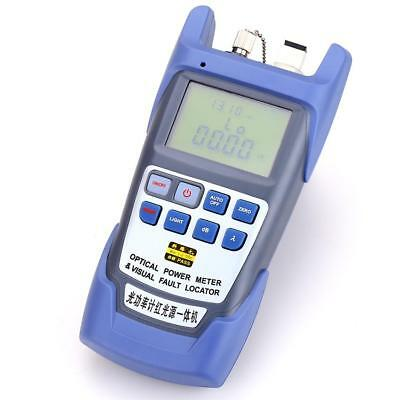 Fiber Optical Power Meter -70 to +10dBm 1mW Cable Tester/ Visual Fault Locator