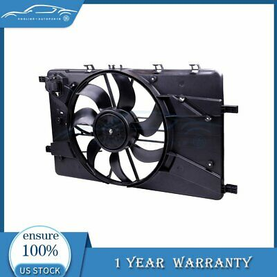 For 2011-2016 Chevy Cruze 1.4 1.8L 12V Radiator AC Condenser Plastic Cooling Fan