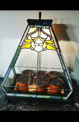 Stained Glass Lamps And Terrariums By Luciano 1973 Designs Patterns