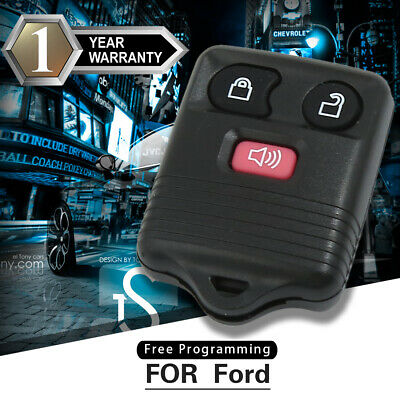 Replacement Car Uncut Keyless Entry Remote Key Fob Transmitter Control For Ford