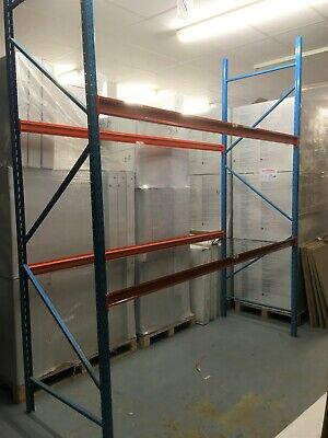 SYMO Heavy Duty Warehouse Commercial Pallet Racking Tiers with Frames & Beams