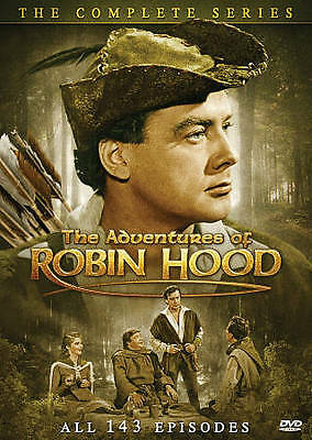 The Adventures of Robin Hood: The Complete Series (DVD, 2009, 11-Disc Set)