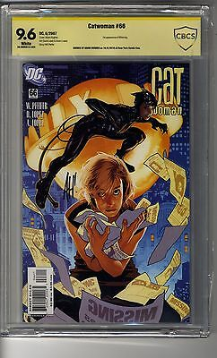 Catwoman (2002) # 66 - CBCS 9.6 WHITE Pages SS Adam Hughes - Catwoman Dies Pt 1