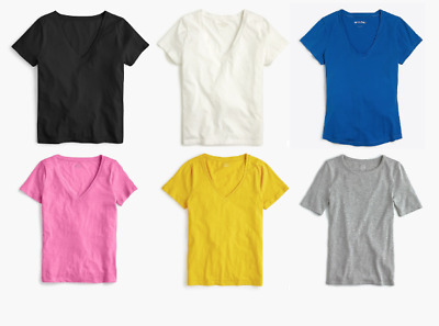 J CREW WOMEN AUTHENTIC SHIRTS LONG or SHORT SLEEVE TEES TOPS SALE BIG SELECTION