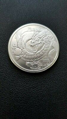The Chinese Dragon - World Of Dragons - 1 Oz Silver 3Rd Of The Series Pre-Order