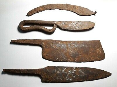Collection Viking Knifes 9-10 Century