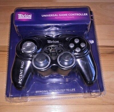 Wired Gamepad Game Controller Joypad for PC or Sony Playstation 3,2,1