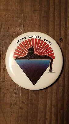 Grateful Dead Pin Jerry Garcia Band Vintage 1978 Cats Under The Stars Mouse