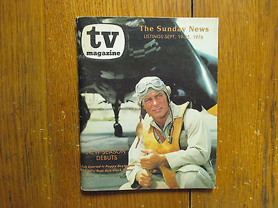 September 19, 1976 Detroit News TV Magazine(ROBERT  CONRAD/BAA BAA  BLACK SHEEP)