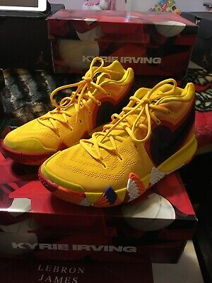 51a1bfaf0cd Nike Zoom Kyrie 4 DECADES PACK 70S YELLOW UNCLE DREW Mens 10 VNDS Kyrie  Irving