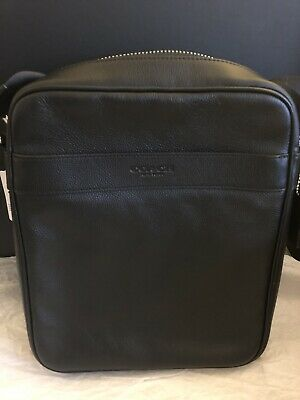 d66858145477 NEW COACH F54782 F59913 Mens Charles Flight Bag In Smooth Leather ...