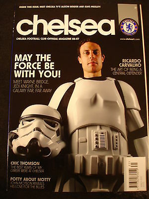 Chelsea Football Club FC Mag Magazine issue 31 Carvalho