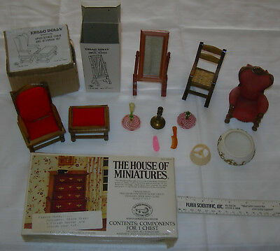 Lot Dollhouse Furniture House of Miniatures / Hello Dolly More 1:12 ?