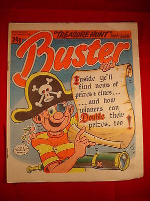 The Buster Comic - 31st January 1987