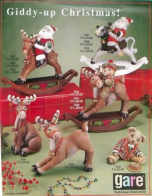 Gare 120 Giddy-up Christmas Technique Sheet