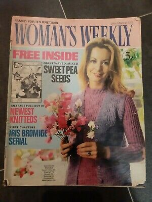 WOMANS WEEKLY  MAGAZINE VINTAGE 24th MARCH 1973