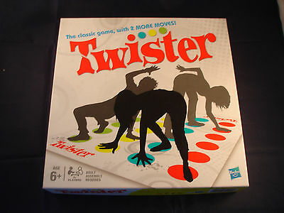 Hasbro Twister game with 2 more moves - Mat sealed