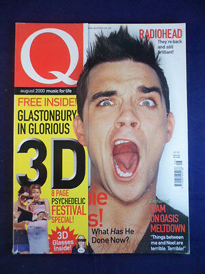 Q magazine - August 2000 - Robbie Williams