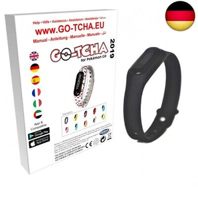 Go-Tcha 2019 LED-Touch-Armband Black Edition für Pokémon (Black Edition 2019)