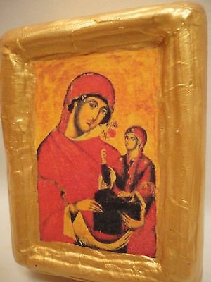 Saint Anne Agia Anna Rare Byzantine Greek Orthodox Christianity Icon Art