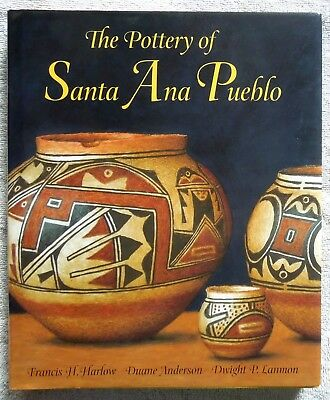 SIGNED Book THE POTTERY OF SANTA ANA PUEBLO History Potters Identification
