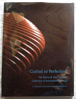 SIGNED Book SOUTHWESTERN POTTERY Crafted To Perfection Rockwell Museum