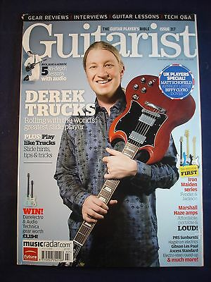 Guitarist - Issue 317 - Derek Trucks