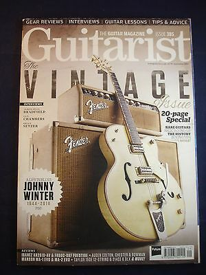 Guitarist - Issue 385 - Vintage issue