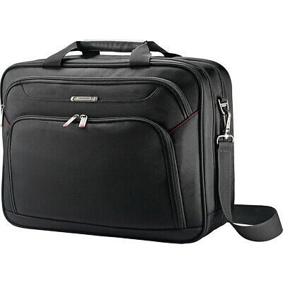 Samsonite Xenon 3 Two-Gusset Two Gusset Brief - Black Non-Wheeled Business Case