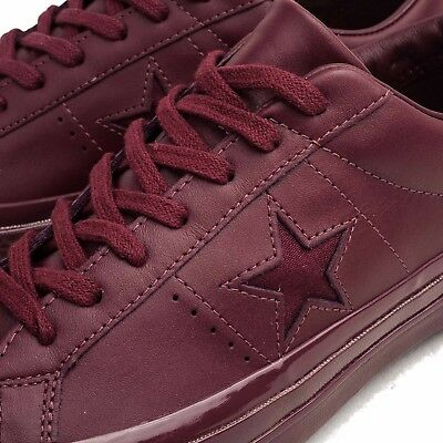 ca5aa98681743 CONVERSE 155715C ONE Star 74 OX Deep Bordeaux Men s 12 - Womens 14 ...