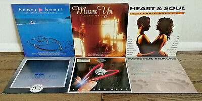 Job Lot Compilations 6×LPs-Fingers Off,Monster Tracks,Band Aid Hits,Missing You