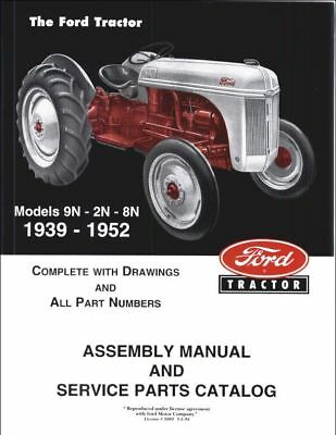 Enjoyable Ford 2N 8N 9N Tractor Workshop Parts Manual 3 99 Picclick Uk Wiring Digital Resources Cettecompassionincorg