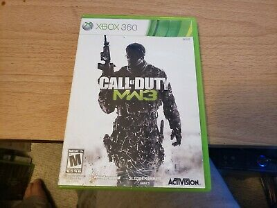 Call of Duty: Modern Warfare 3 for Xbox 360 *CASE AND MANUAL ONLY*