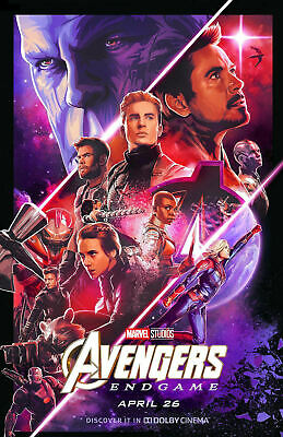 "Avengers -  Endgame ( 11"" x 17"" ) Movie Collector's Poster Print ( T4 )- B2G1F"