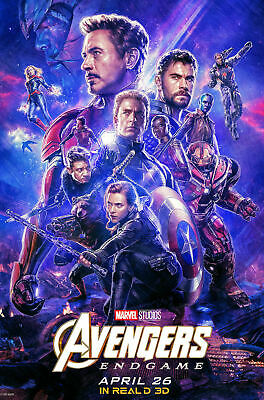 """Avengers -  Endgame ( 11"""" x 17"""" ) Movie Collector's Poster Print ( T5 )- B2G1F"""