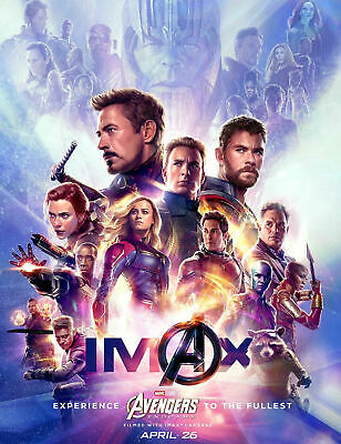 """Avengers -  Endgame ( 11"""" x 14"""" ) Movie Collector's Poster Print ( T6 )- B2G1F"""