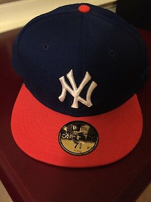70735ccf NEW ERA 59FIFTY Yankees Stadium Bronx NY Fitted Hat 7 3/4 Navy Blue ...
