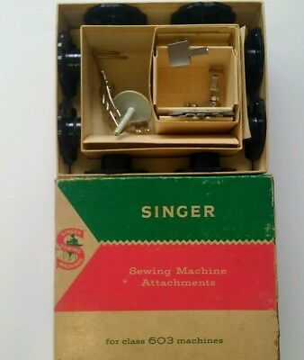 Singer Sewing Machine Attachments class 603 machines  simanco 161796 parts