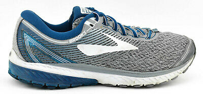 3fa61622958 Mens Brooks Ghost 10 Running Shoes Size 11 Us 45 Eu Gray Navy Blue White