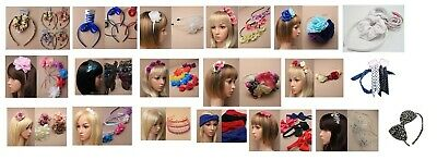 wholesale job lot of  86 pieces of assorted hair accessories - Joblot 23