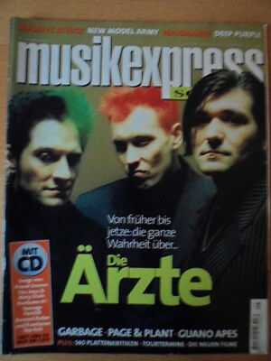 MUSIKEXPRESS 5 - 1998 Die Ärzte PagePlant Guano Apes New Model Army Deep Purpel