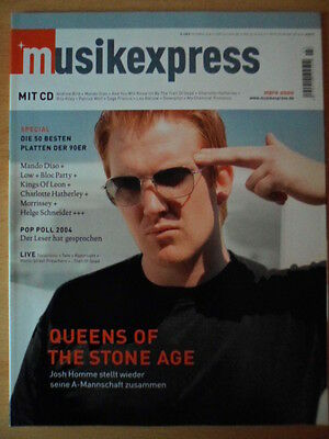 MUSIKEXPRESS 3/2005 * Queens of the Stone Age Mando Diao Morrissey Bloc Party