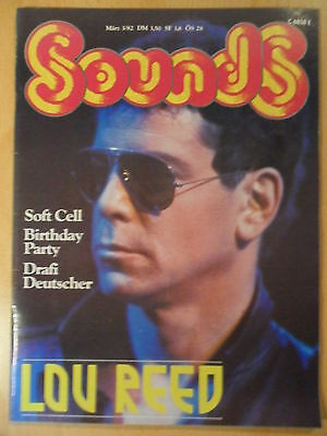 SOUNDS 3- 1982 ** Lou Reed Soft Cell Birthday Part Drafi Deutscher Anthony Moore