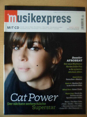 MUSIKEXPRESS 4/2008 Cat Power Afrobeat Maximo Park Muse The Cure Louis XIV Foals
