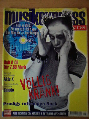 MUSIKEXPRESS 5/1997 * Prodigy Akte X Smudo Orb David Bowie White Town Ray Davies