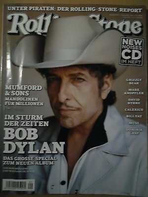 ROLLING STONE 9 - 2012 Bob Dylan Grizzly Bear Mark Knopfler Calexico Bill Fay