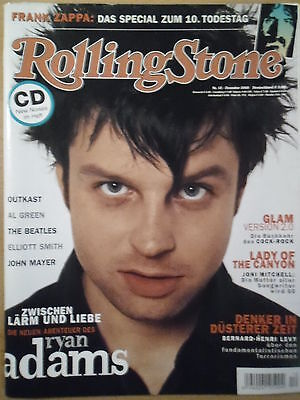 ROLLING STONE 12 - 2003 Ryan Adams Frank Zappa Outkast Al Green Ellioth Smith
