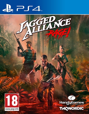 Videogioco Sony Ps4 Jagged Alliance Rage Play Station 4 Nuovo Game Thq Nordic