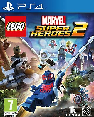 Videogioco Per Sony Ps4 Lego Marvel Super Heroes 2 Spiderman Hulk Play Station 4