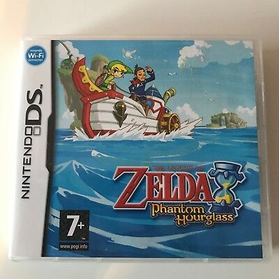 Nintendo DS DSi The Legend Of Zelda Phantom Hourglass Boxed Complete Pal Game